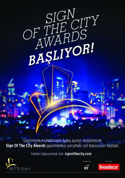 Sign of the City Awards 2017'ye Başvurular 11 Ağustos'ta SonaEriyor