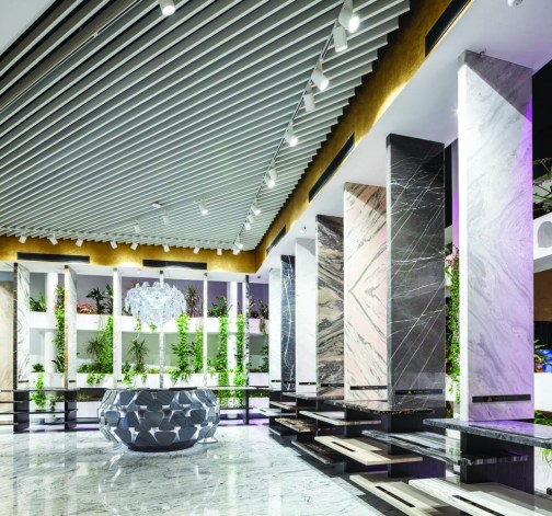 Zirve Stone Gallery, HOM Design Center. Fotoğraf: Sahir Uğur Eren