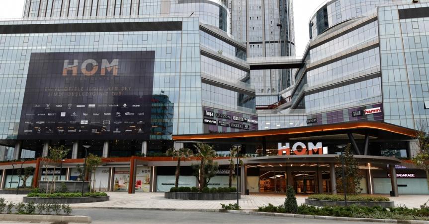 """""""Tasarım Merkezi"""" HOM Design CenterAçıldı!"""