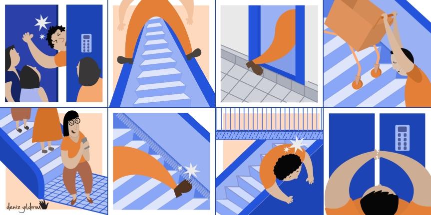 [ASANSÖR VE YÜRÜYEN MERDİVENLER]: Yürüyen Merdivenlerde ve Asansörlerde ÇocuklarınGüvenliği